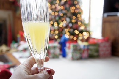 wait this is better - christmas mimosa.