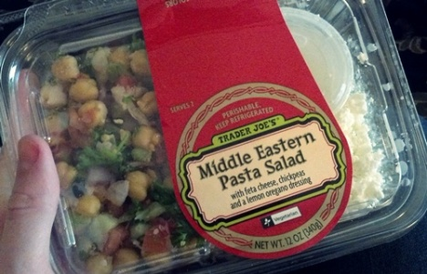 middle eastern pasta salad TJs
