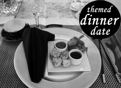 take the ordinary dinner date up a notch. pick a theme: your fav cuisine, based on your fav movie. & go with it. #LLinaBC