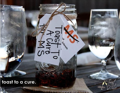 toast to a cure for ms
