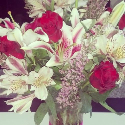 flowers from [J]