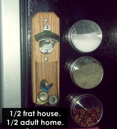 home slash frat house