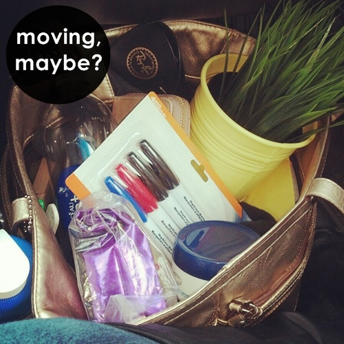 moving purse