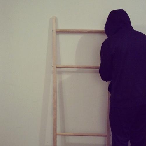DIY blanket ladder // LLinaBC.com