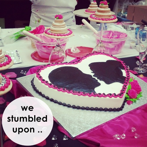 cake competition silouettes