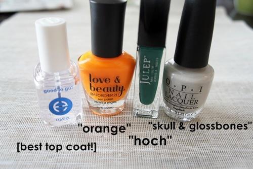 st pats manicure // LLinaBC.com