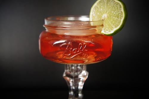 the irish red. using irish whiskey and ginger beer