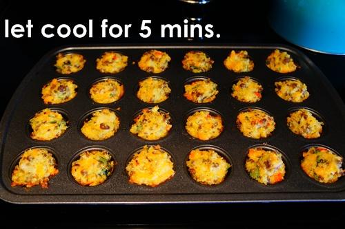 quinoa breakfast bites // LLinaBC.com