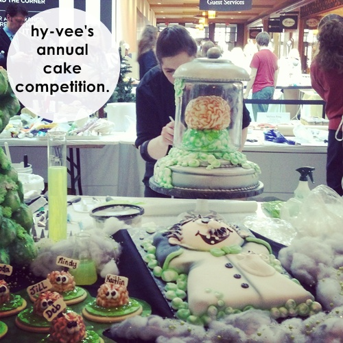 hyvee cake competition