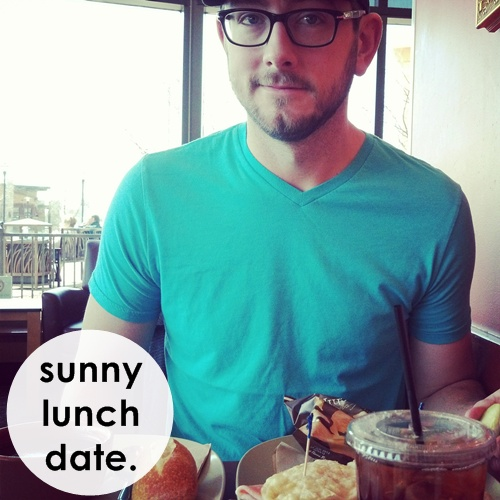 sunny lunch date